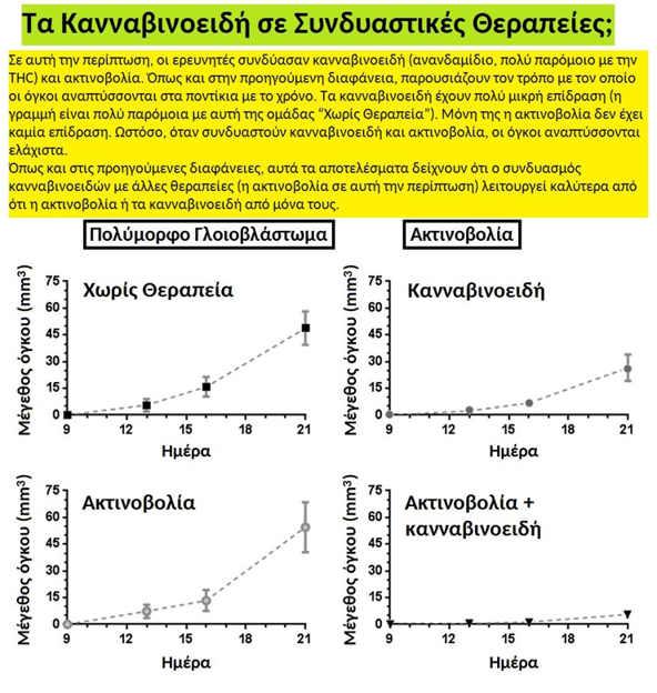 Κλινικά Αποτελέσματα : Ραδιοχημειοθεραπεία μαζί με Κανναβιδιόλη (CBD) 4